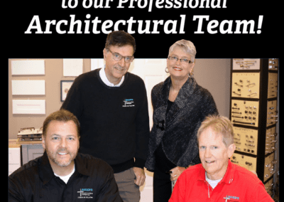 Trust our Architectural Team!