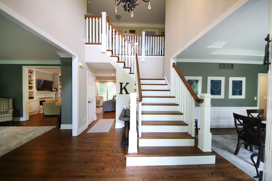 remodeled staircase