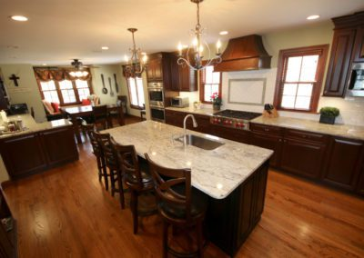 wood marble kitchen fine dining breakfast nook