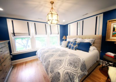 blue master bedroom warm pillows interior design selections